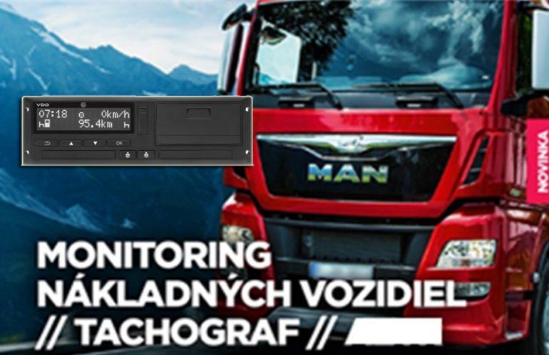 Monitoring nákladných vozidiel (tachograf)